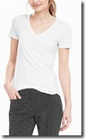 Banana Republic cotton modal basic v neck t-shirt