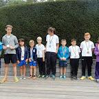 Medaillewinnaars scholenveldloop 2017