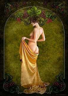 Geshtinanna Goddess Of The Autumn Vines Image