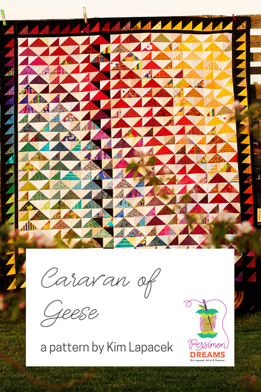 Caravan of Geese - quilt by Diane Lapacek, pattern by Kim Lapacek