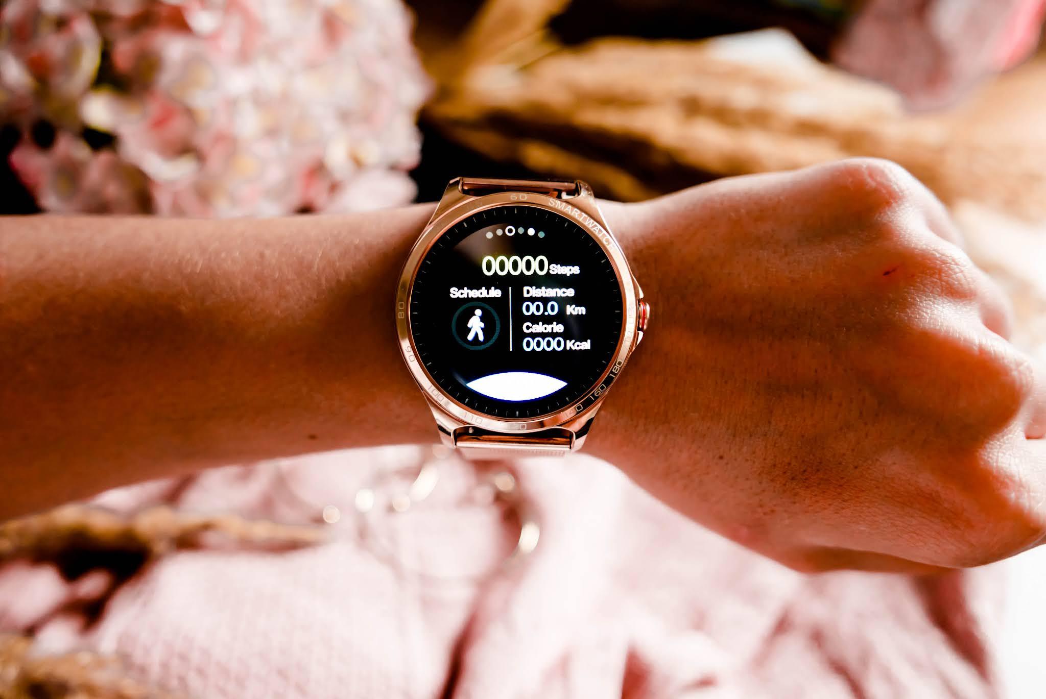 tryby sportowe smartwatcha garett maya