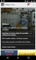 Screenshot of 13News Now (WVEC)