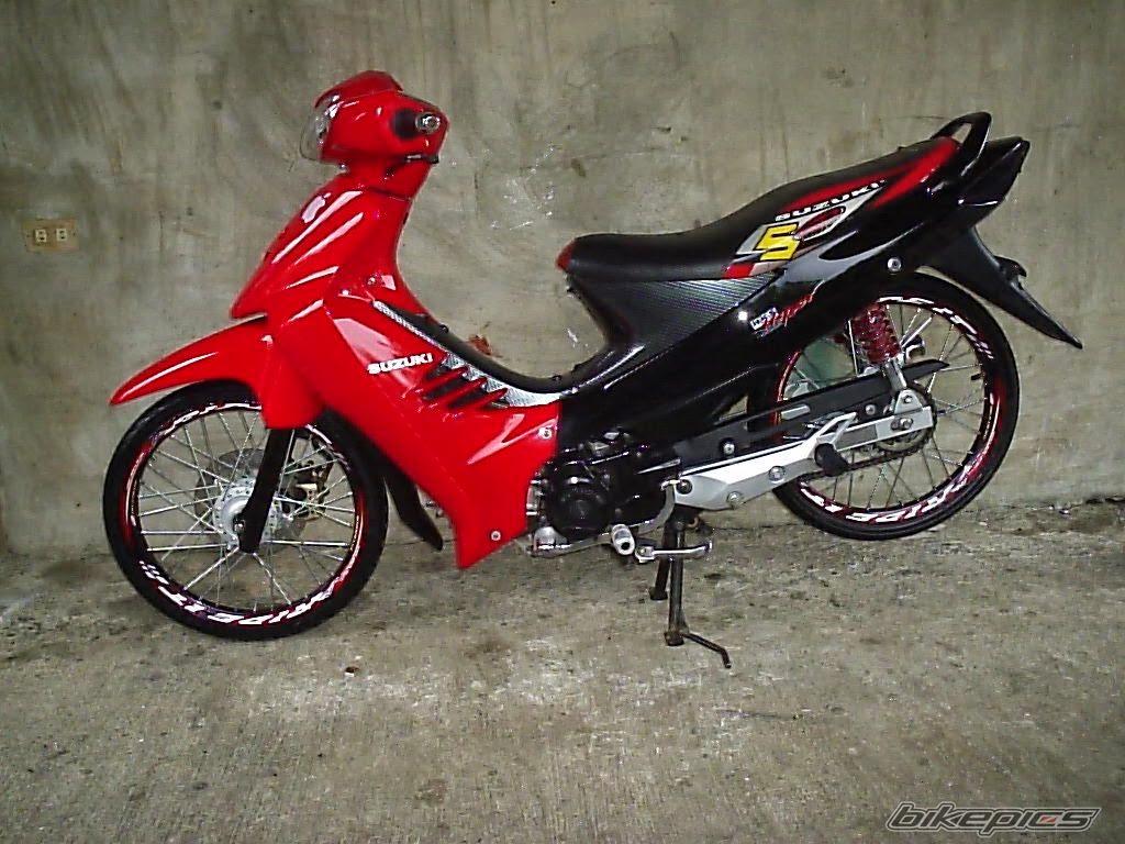 Modifikasi Suzuki Nex Ring 17