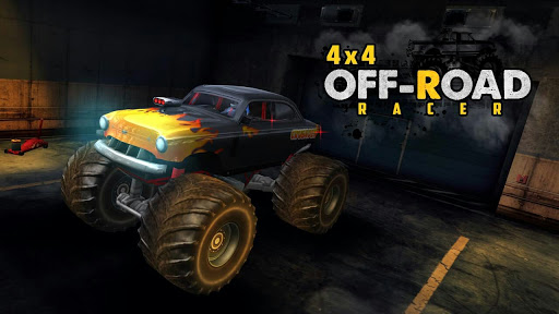 4X4 OffRoad Racer - Racing Games APK MOD DINHEIRO INFINITO