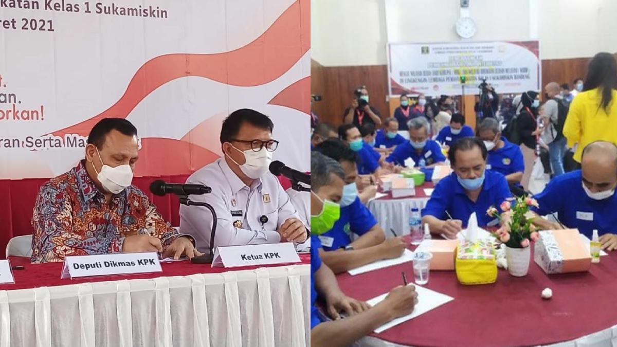 Ketua KPK Penyuluhan ke Lapas Sukamiskin, Kemana Novanto, Anas, dan Akil Mochtar?