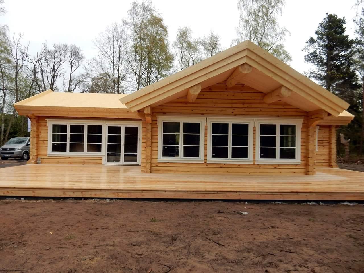 Casas de madera natural - Casas de madera natural ...