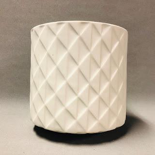 Jonathan Adler Round Tissue Box Cover