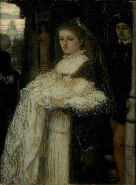 Matthijs Maris - Christening Procession in Lausanne - Google Art Project.