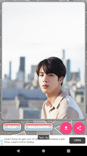 Jin BTS Game Puzzle android2mod screenshots 6