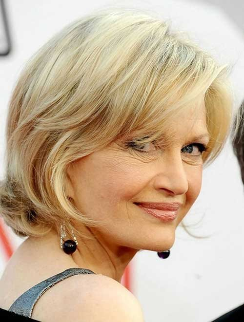 Short Haircuts For Mature Women 2015