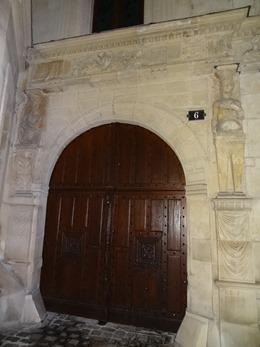 2017.10.22-074 porte de l'hôtel Saint-Jean-Baptiste de La Salle