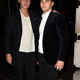 OIC - ENTSIMAGES.COM -   James Gartshore-Boulter   and Ben Freeman  seen at the Novikov Restaurant  in London 18th June 2015   Photo Mobis Photos/OIC 0203 174 1069