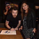 OIC - ENTSIMAGES.COM - JJ Adams The Artist and Vanessa Horca at the  Bang and Olufsen 90th Anniversary Love London Collection  London 10th September 2015 Photo Mobis Photos/OIC 0203 174 1069