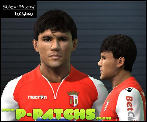 Márcio Mossoró Face - PES 2012