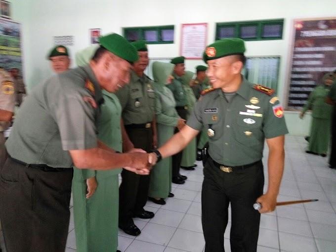 Serah Terima Dan Rotasi Jabatan di Kodim Pati