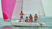 J/80 sailing team- Cal State- Long Beach