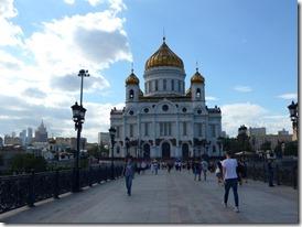 cathédrale du christ sauveur vue du pont des patriarches1