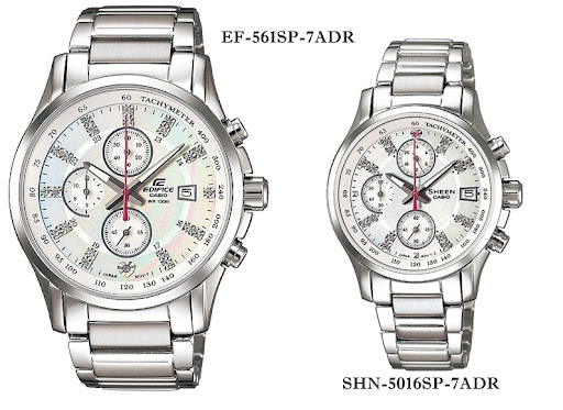 Jual Jam Tangan Casio Couple Edifice Sheen   SHN-5016SP  865beaa02c