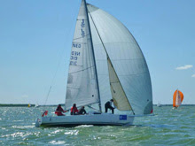 J/80 sailing 24 hrs Netherlands regatta