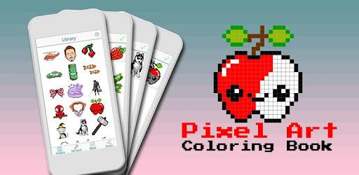 Kinderkleurplaten Cijfers.Kleur Op Nummer Pixel Art Kleurboek Apps Op Google Play