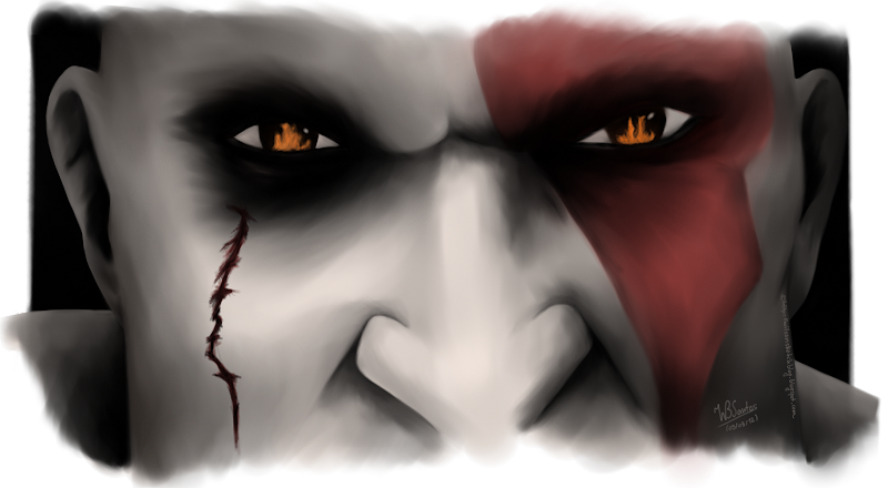 Kratos Eyes (God of War)