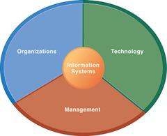 dimensi manajemen, organisasi, dan teknologi dari sistem informasi