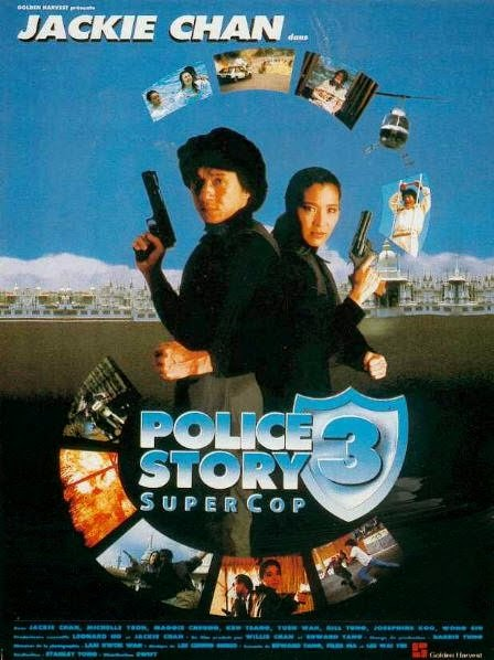 Poster Of Police Story 3: Supercop (1992) Full Movie Hindi Dubbed Free Download Watch Online At Alldownloads4u.Com