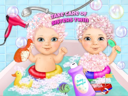 Sweet Baby Girl Twin Sisters- screenshot thumbnail