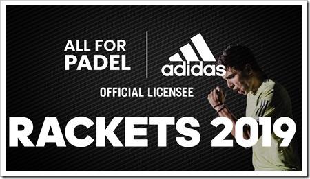 Adidas Pádel Colección 2019