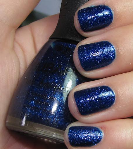 Sapphire Sparkle 2 coats