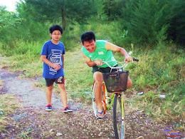 family trip pulau pari 140716 Fuji 097