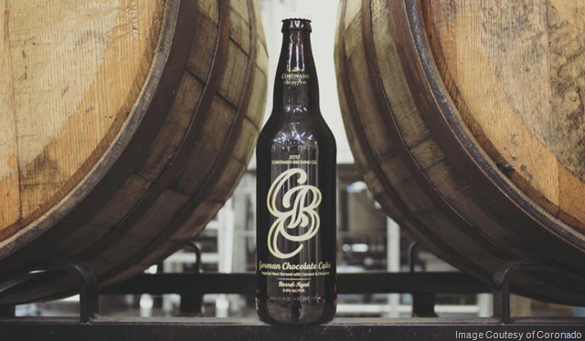 Coronado Brewing Releases Barrel-Aged German Chocolate Cake