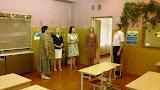 Medžiukų mokyklos mokytoja L. Nikiporavičienė, l. e. Barskūnų pagr. m-klos direktoriaus pareigas L. Kizina, Tarybos narė R. Tamošiūnienė, Barskūnų pagr.m-klos mok. A. Mažulienė, Barskūnų pagr. m-klos direkt. pavaduo.JPG