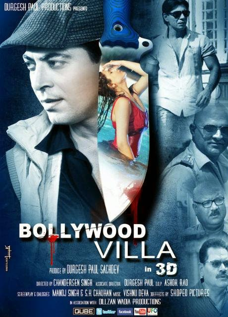 Poster Of Hindi Movie Bollywood Villa (2014) Free Download Full New Hindi Movie Watch Online At Alldownloads4u.Com
