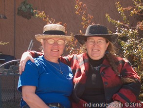 Nancy  and Mary Jo, New Mexico, 2012