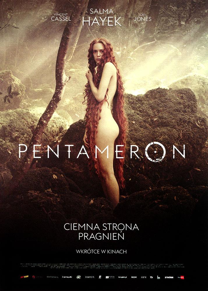 Ulotka filmu 'Pentameron (przód - wersja B)'