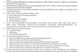Kunci Jawaban Tugas Terstruktur 1 Sosiologi kelas XII IPS Semester 1