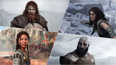 Thor, Freya, Sindri, Brok, and other characters are given new looks in God of War Ragnarok