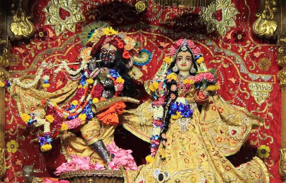 ISKCON Delhi Deity Darshan 29 May 2016 (1)