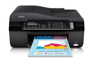 Drivers & Downloads Epson WorkForce 520 printer for Windows