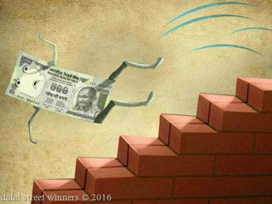 Indian rupee to a historic low
