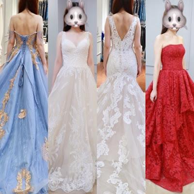 婚享。尋紗之旅#2。夢幻時尚的歐美風婚紗(多圖)