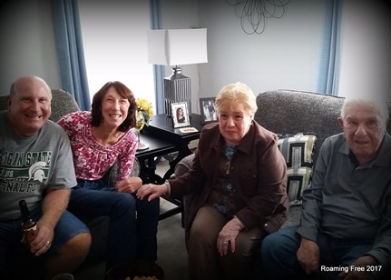 Sharon, Aunt Sylvia, Uncle Freddie