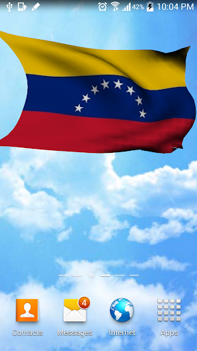 3D Venezuela Flag Wallpaper