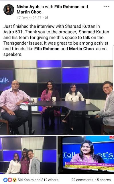 LGBT masuk tv! Malaysia baru