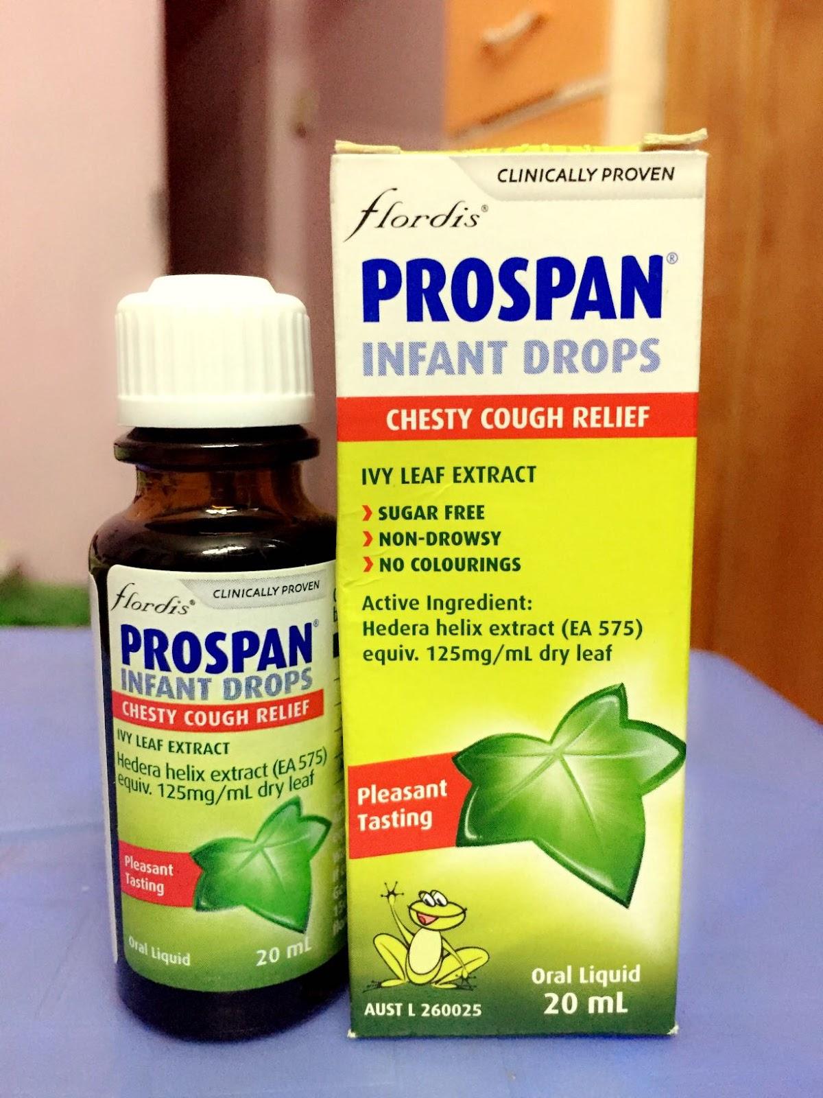 Prospan dùng cho trẻ sơ sinh