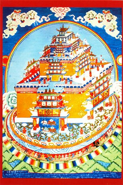 The Design Of The City Of Meru Is Based On The Sri Yantra Generator, Temples And Shrines
