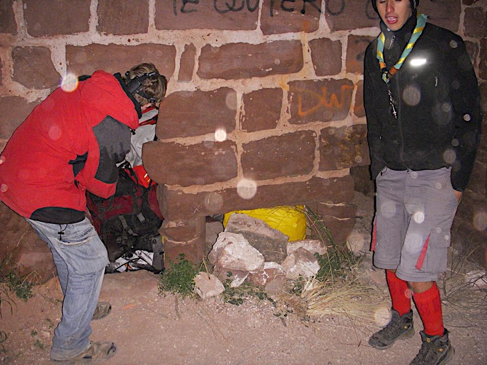 Sortida Castell Eramprunyà - Pioners 2009 - DSCN1041.JPG