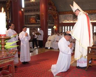 Thánh lễ truyền chức Phó tế tại nhà thờ chính tòa Phát Diệm