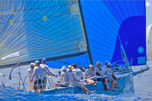 J/125 Hamachi sailing St Barths Regatta